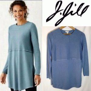 J. Jill Wool Blend Tunic Sweater